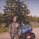 Joe was a motorcycle rider, and loved the mountains