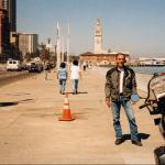 Visiting me at San Francisco, on the embarcadero - 2000